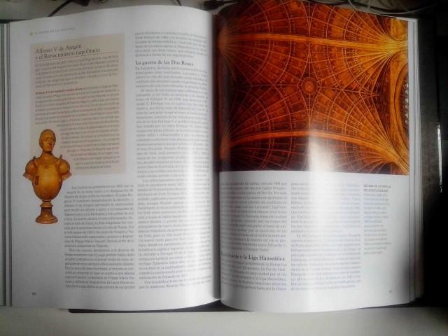 Detalle del interior del libro