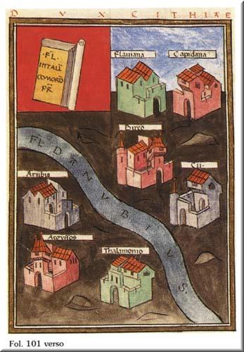 El Danubio y sus ciudades - Notitia Dignitatum