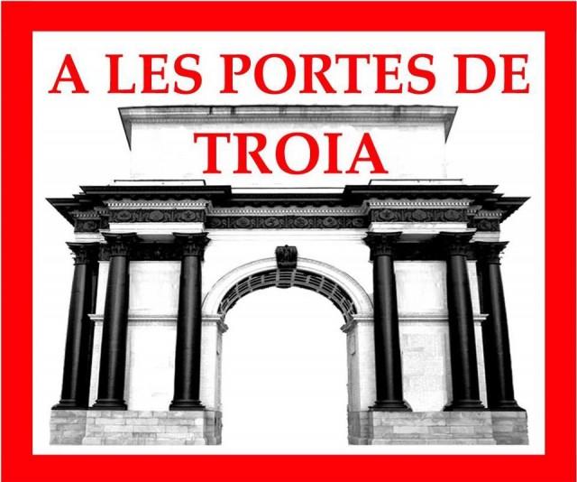 Logo - A les portes de Troia - Matadepera Ràdio