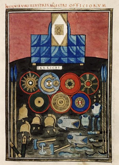 Panoplia romana bajo imperial - notitia dignitatum