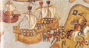 Desembarco cruzado en Damieta (1249) - Irse a la guerra tiene su qué pero ¿qué hacer con los cadáveres de los que mueren lejos de casa?