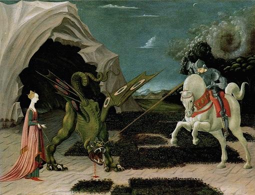 Paolo Uccello - San Jorge y el Dragón