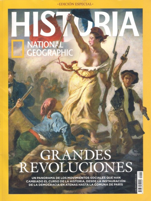 Portada Historia National Geographic- Grandes Revoluciones