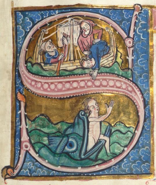 Psalteri Carrow, Walters Museum, MS 34, mitjans x. XIII