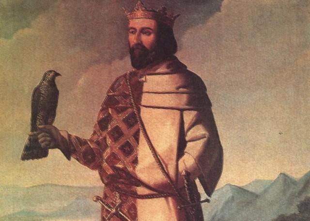 """Juan I ha pasado a la historia como """"el Cazador"""". Según la tradición, sus afición por el ocio fue aprovechada porsu círculo de consejeros para gobernar a su antojo"""
