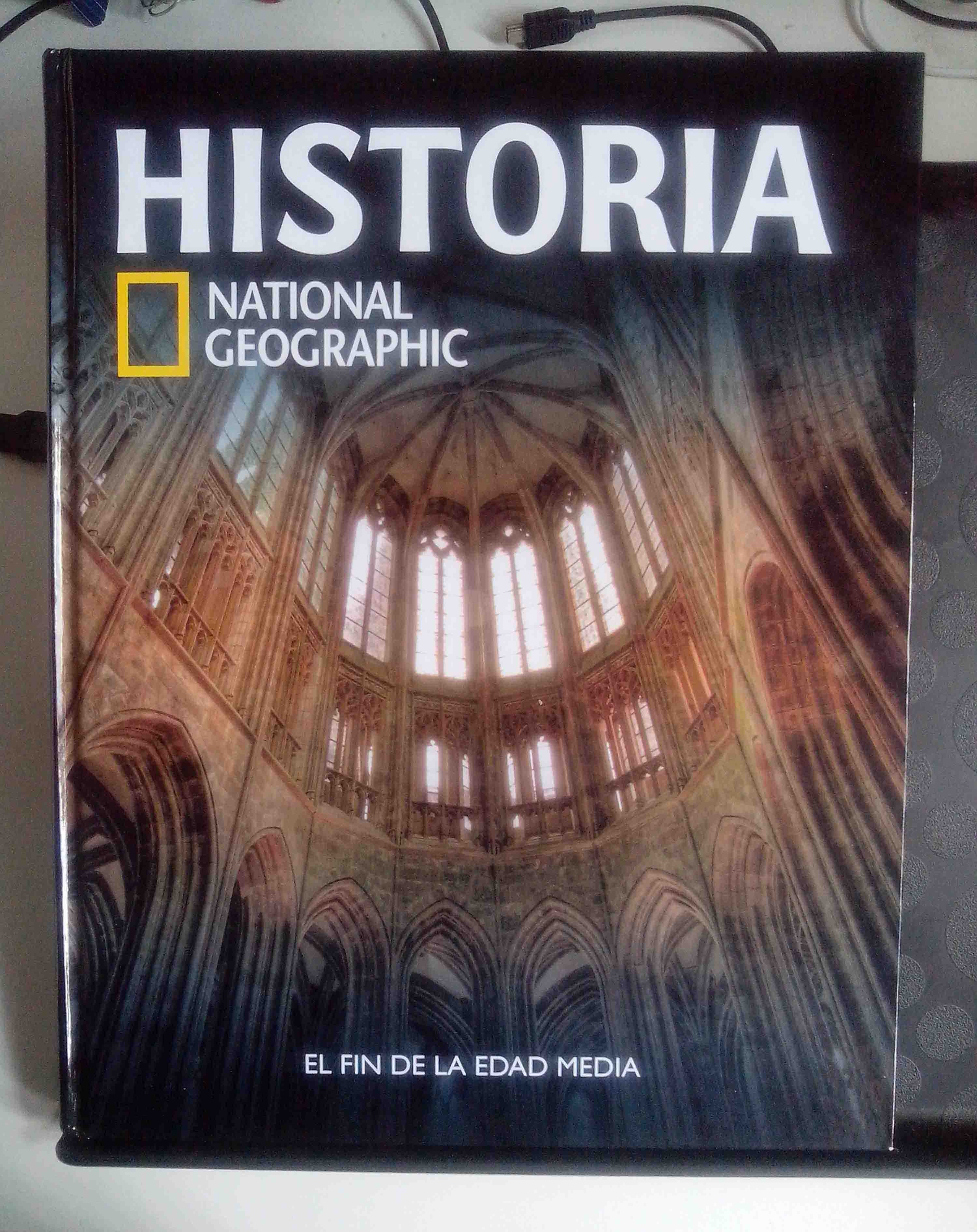 Portada del volumen 21 de Historia Universal National Geographic