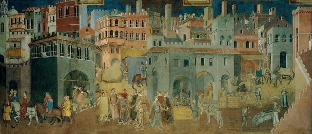 ¿Por qué fijarse en las ciudades medievales?